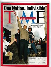 TIME MAGAZINE SEPTEMBER 24,2001 SPECIAL ISSUE ONE NATION,INDIVISIBLE 9/11