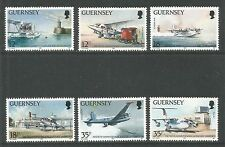 Guernsey 1989 Aviation History-Attractive Airplane Topical (404-09) Mnh