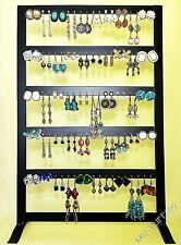 Metal Earring Holder/Display Rack Included Lot 50 Pairs Earrings Free Ship!