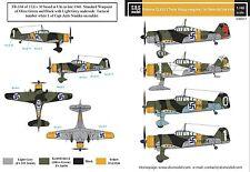 SBS Model 1/48 Fokker D.XXI (Twin-Wasp) in Finnish service decal sheet D48017