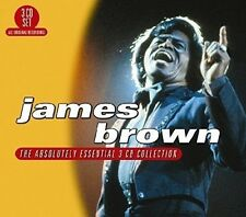 JAMES BROWN - ABSOLUTELY ESSENTIAL  3 CD NEU