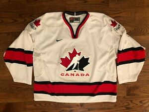 Canada Hockey Jersey Olympics Nike Team Stitched Jersey Men's XL EUC Vintage VTG