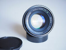 Yashica Yashinon DS-M 50mm 1:1.7 Standardobjektiv (M42! Lichtstark!)