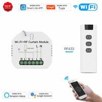 WiFi Smart Curtain Blinds Module Switch Roller Shutter Motor for Tuya Alexa Home