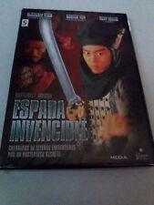 """DVD """"ESPADA INVENCIBLE"""" COMO NUEVO MICHELLE YEOH DONNY YEN TONY LEUNG MICHAEL MA"""