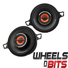 "JBL GX302 3.5"" Inch 8cm 2 way coaxial car speaker dash door shelf 75 watts each"