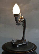 Table Lamp Light Antique Table Light Lamp Female Figure Bedside Lamp Vintage