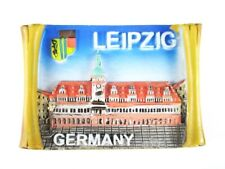 Leipzig Saxony Poly Magnet Germany Souvenir, New