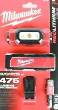 Brand New Sealed Milwaukee 475 Lumen Red Lithium Headlamp 2111-21