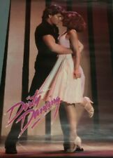 1987 Vintage Dirty Dancing Patrick Swayze Jennifer Grey Poster Duet 23x35 New