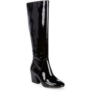 BOTKIER 7.5 Adelle Knee High Boot Black Patent Leather