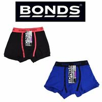 MENS BONDS U FRONT TRUNKS Trunks Underwear Jocks Shorts Ufront Black Blue Red