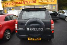 2006 SUZUKI GRAND VITARA 5 DOOR TAILGATE / BOOTLID - BLUISH BLACK ZJ3