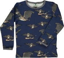 New Smafolk Penguin Air Blue Long Sleeved T-Shirt 92 110 122 128