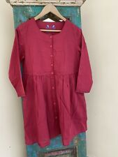 Gudrun Sjoden  embroidered Cotton Tunic Size L (18)