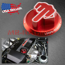 Red Middle Finger Novelty Engine Oil Filter Tank Cap Cover Aluminum For Toyota