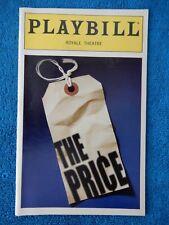 The Price - Royale Theatre Playbill - January 2000 - Bob Dishy - Harris Yulin