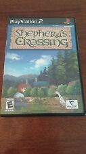 Shepherd's Crossing (Sony PlayStation 2, 2008) NO MANUAL, MAIL IT TOMORROW!