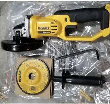 "DCG412B Dewalt 20V Cordless Battery Angle Grinder 4 1/2"" 20 Volt MAX Cut-Off NEW"