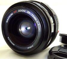 Minolta Maxxum 35-70mm f4 AF Lens Sony A mount  constant f4.0 aperture zoom