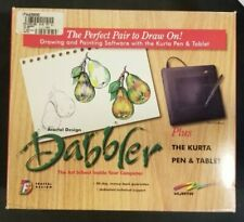 "The Dabbler Software + Kurta Pen & Tablet ""Perfect Pair"" 3.5"" Windows"
