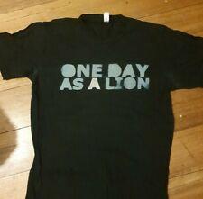 ONE DAY AS A LION - MediumTshirt / Rage Against the Machine shirt - RARE