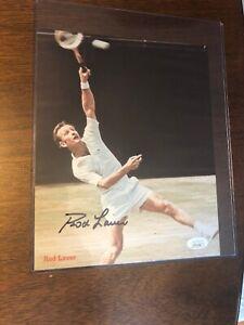 Rod Laver Signed 8x10 Tennis Photo Autographed AUTO JSA COA CLEAN HOF