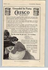 1912 Paper Ad Crisco Shortening Pie Crust Recipe Procter & Gamble Co Cincinnati