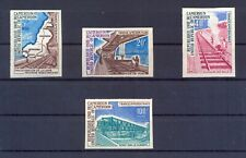 Cameroon 1974 Cameroun new Railroad Lines imperforated. VF and Rare