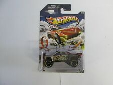 2013 Hot Wheels Holiday Sandblaster mispack with rare black hubs