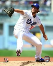 Clayton Kershaw Los Angeles Dodgers 2017 Action Authentic 8x10 Photo