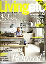 LIVING ETC. MAGAZINE FEBRUARY 2014 ISSUE