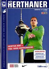 BL 2008/09 Hertha BSC - TSG 1899 Hoffenheim, 09.11.2008