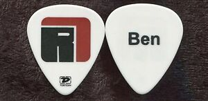 RELENTLESS 7 2009 Tour Guitar Pick!!! Ben's custom concert stage BEN HARPER #1