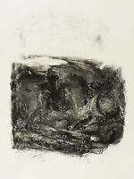 JOHANNES HEISIG - Abwarten - Lithografie 1993