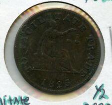 1825 Canada 1/2 Penny Token - RC619