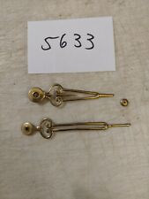 ANTIQUE ANKER WESTMINSTER CHIMES TAMBOUR ART DECO CLOCK HANDS AND NUT