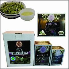Ceylon Mlesna White Silver Tip Organic Leaf Loose 50,100,200g Tea & 15 Tea Bags