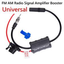 Hidden Universal Car Radio Signal Amplifier Antenna Aerial Booster Enhancer 12V