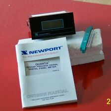 Q2100 Pfs Newport 120 Volt Quanta Process Signal Digital Panel Meter
