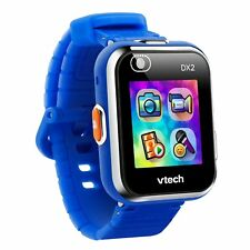 VTech Kidizoom Smartwatch DX2 Child Kid Safe Smart Watch w/ 2 Cameras (Blue)