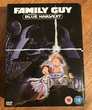 Family Guy Blue Harvest DVD Box Set with New T-Shirt & Collectibles. 3D Glasses