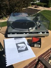 Technics SL-5350 Quartz Direct Drive Turntable with Manual and New Shure Stylus