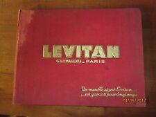 Catalogue ancien 1934 meubles LEVITAN à PARIS - 156 pages + catalogue Gal.BARBES