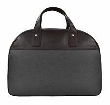 Ghurka Slate GRKA-TEK Leather Court Duffel Bowler Bag No. 751 New $1395