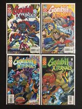 4 Issue Lot - Gambit And The Externals 1 2 3 4 Age Of Apocalypse X-Men