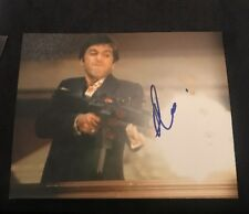 AL PACINO SIGNED 8X10 PHOTO SCARFACE GODFATHER W/COA+PROOF RARE WOW
