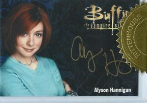Buffy Ultimate Collection Series 3 Alyson Hannigan Gold Autograph Card