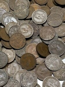CANADA Small Cent (1920-1936) BAG LOT of 500 coins!☆☆ King George V ☆☆ nice circ