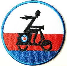 Vespa PIAGGIO Scooter MOD Ska Patch Iron on Transfer Biker T shirt Badge Emblem